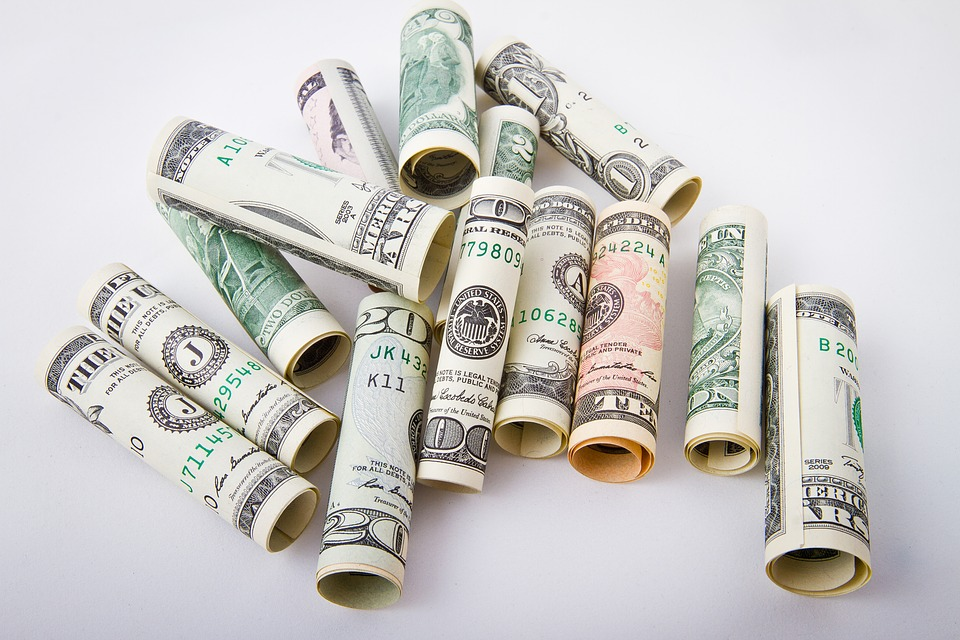 Rich Cash Money Money Paper Dollar Bank Bill