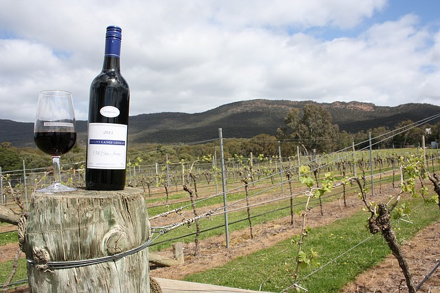 Wine Australia Grampians Vineyard Country