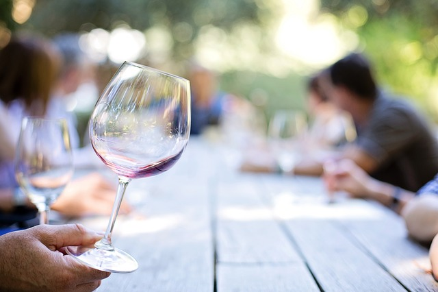 Wineglass Wine Tasting Winery Wine Glass
