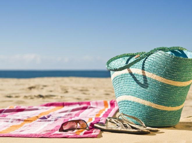 Beach towel beach day
